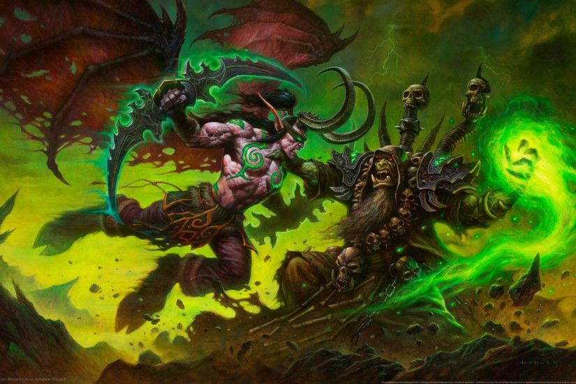 General 3840x2160 World of Warcraft Illidan Stormrage