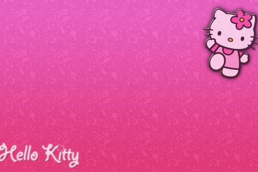 Pink Hello Kitty Background Wallpaper - WallDevil