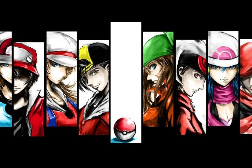 1920x1200 Pokemon Trainer Red Wallpapers - Wallpaper Cave
