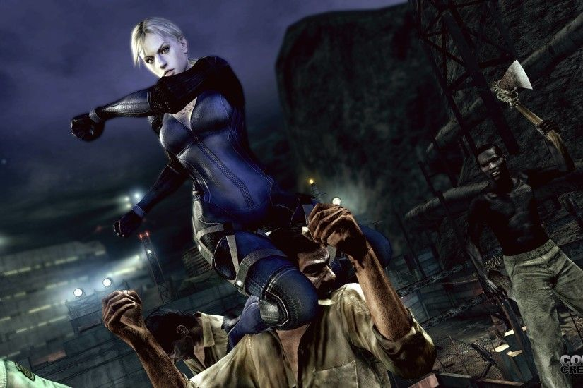 Images For > Resident Evil 5 Jill Wallpaper