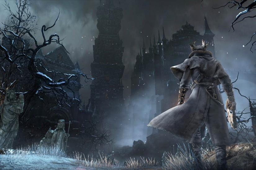 Bloodborne Dark Game Design 1920x1080 wallpaper