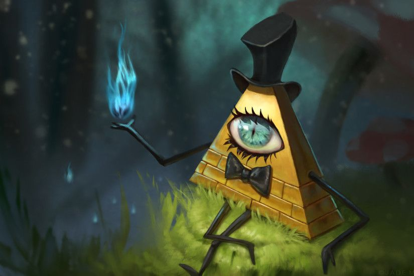 TV-program - Gravity Falls Bill Cipher Bakgrund