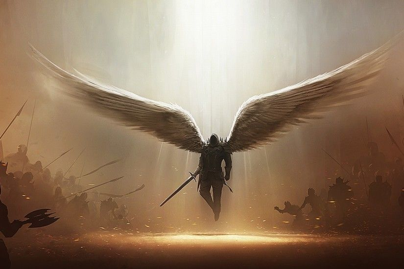 Angels Wallpaper 1920x1080 - WallpaperSafari Angel HD desktop ...