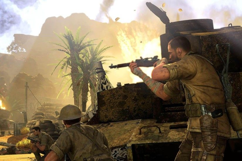 Sniper Elite iii Afrika 2014 Wallpaper