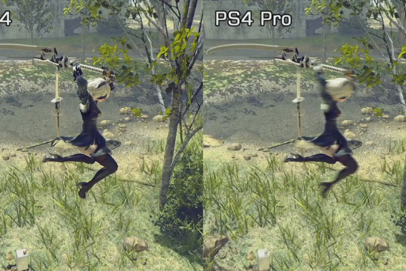 If you can't disable motion blur on PS4 Pro... - NieR: Automata Message  Board for PlayStation 4 - GameFAQs