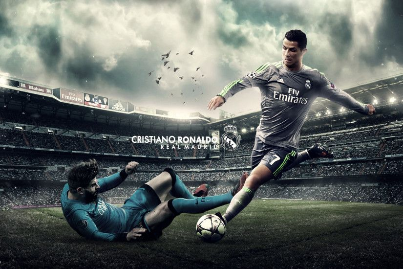 ... Cristiano Ronaldo Wallpaper 2016/17 by HassanGFX7
