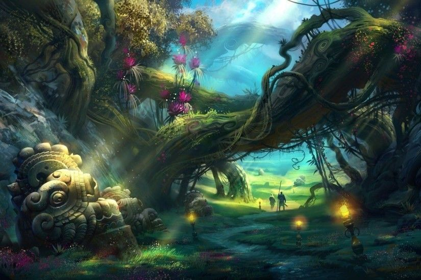 Cool Fantasy Forest 6 HD Images Wallpapers | HD Image Wallpaper
