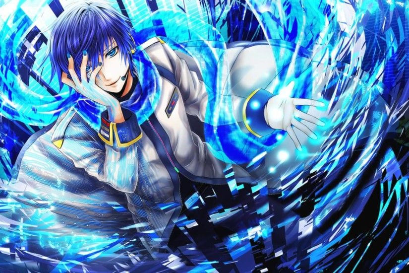 Kaito Vocaloid Backgrounds.