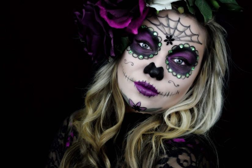 Images for Desktop: sugar skull image, 581 kB - Bedford Holiday