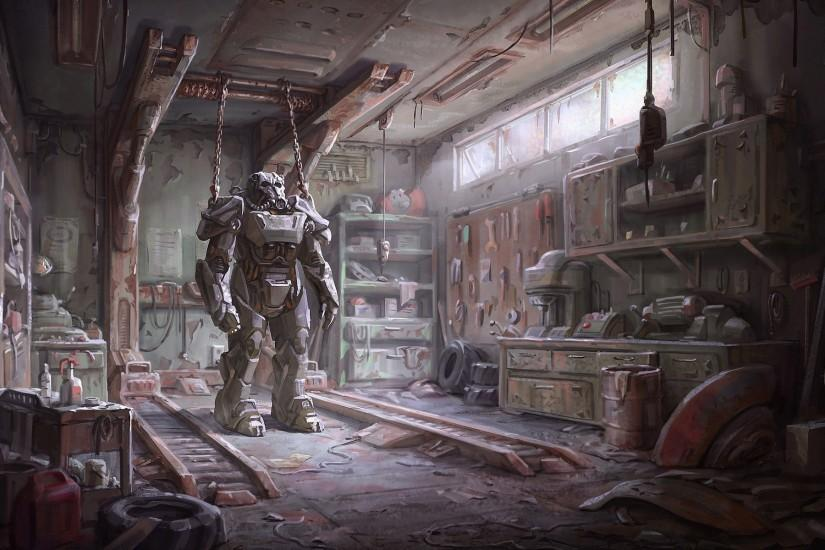 gorgerous fallout 4 concept art wallpaper 1920x1200 windows xp
