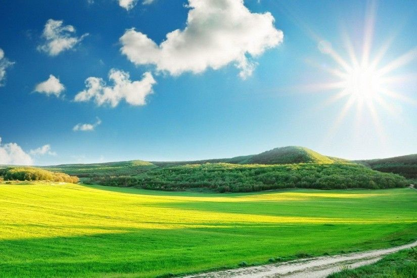 Amazing Sunny Day Wallpaper