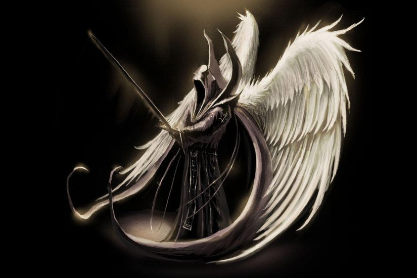 Angel of Death Wallpaper | 3D Wallpapers | Pinterest | 3d wallpaper, Death  and Wallpaper