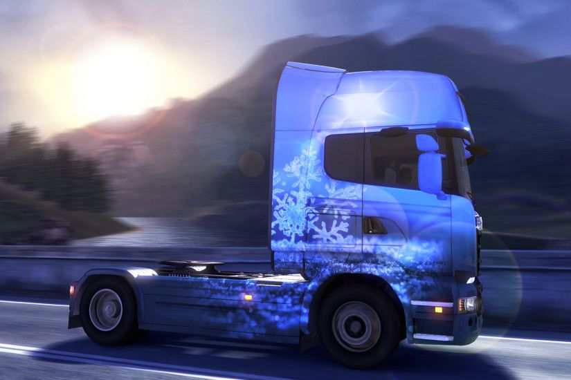 Wallpaper from Euro Truck Simulator 2
