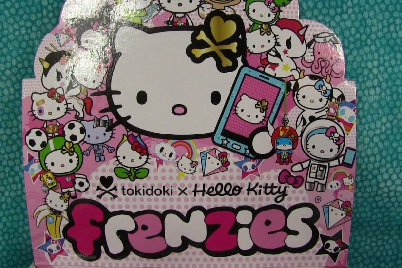 Tokidoki Hello Kitty Frenzies Phonezies Opening Unboxing Toy Review -  YouTube