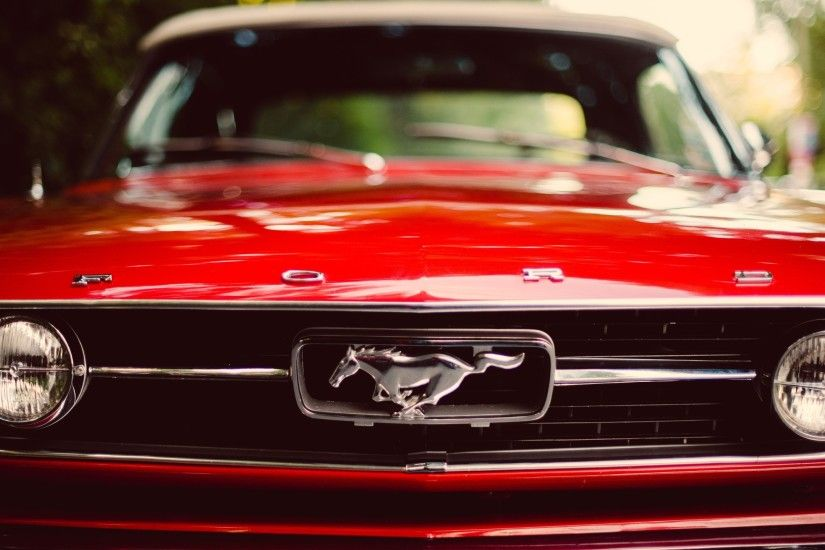 muscle Cars, Ford Mustang, Red, Car Wallpapers HD / Desktop and Mobile  Backgrounds