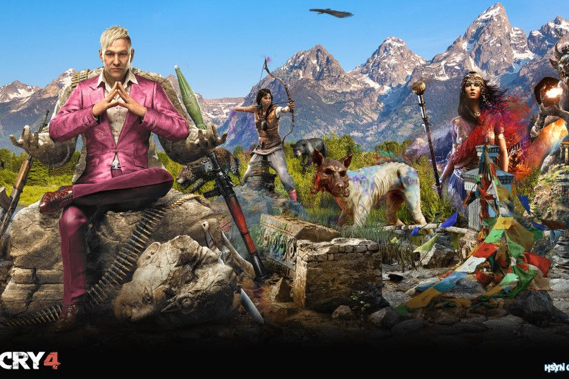 Far Cry Far Cry 4 Tiger HD Wallpaper