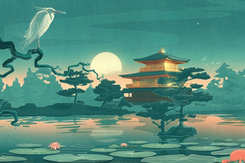 Pix For > Japanese Art Wallpaper