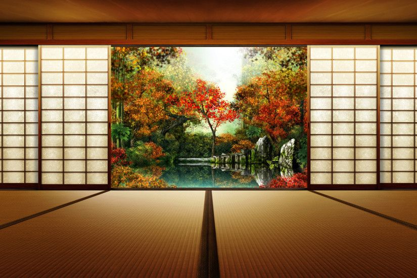 Japanese Garden Wallpapers, Backgrounds, Desktop Wallpapers, Japanese .