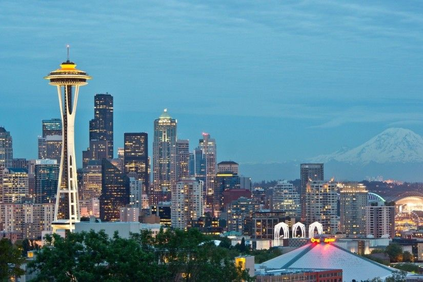 Seattle Skyline Wallpapers