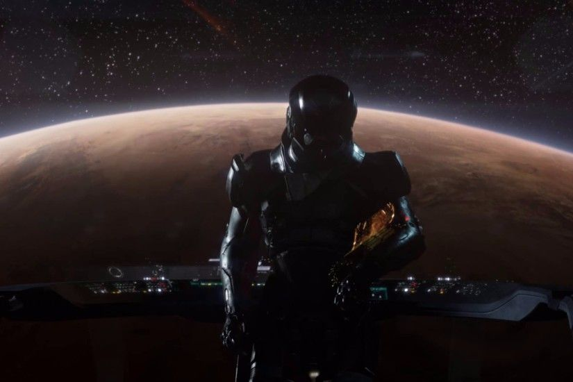 BioWare Launch Announcement 2016 Mass Effect Andromeda 4K Wallpapers