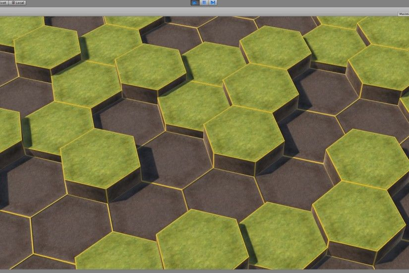 ... 3D hex grid 002 by LeftoverTofu