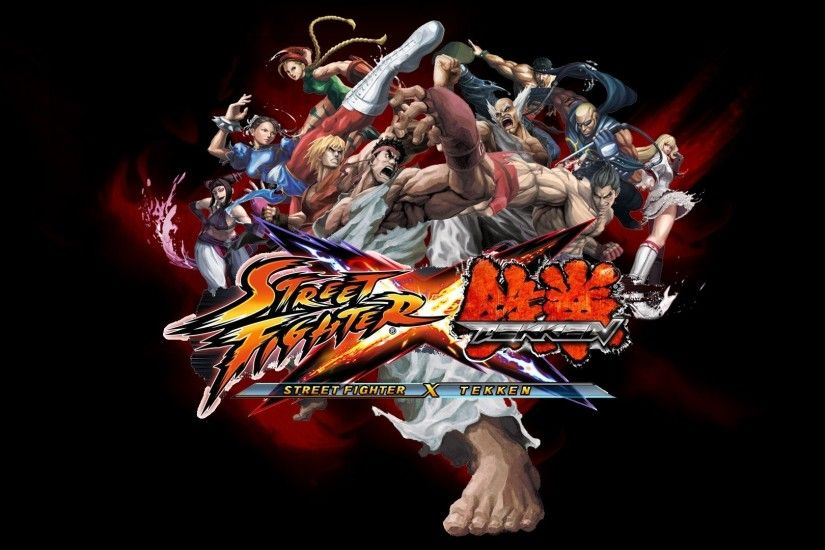 1920x1080 Wallpaper street fighter x tekken, characters, faces, angry