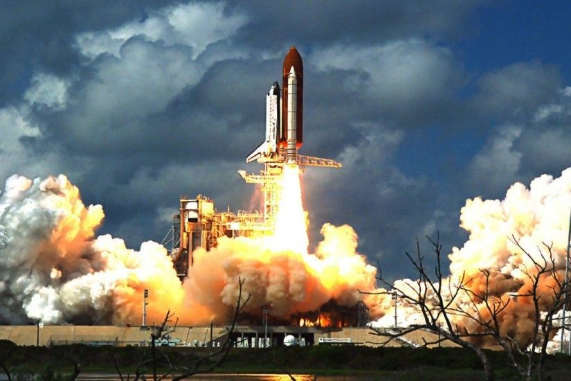 Space Shuttle Launch Wallpaper - WallpaperSafari ...