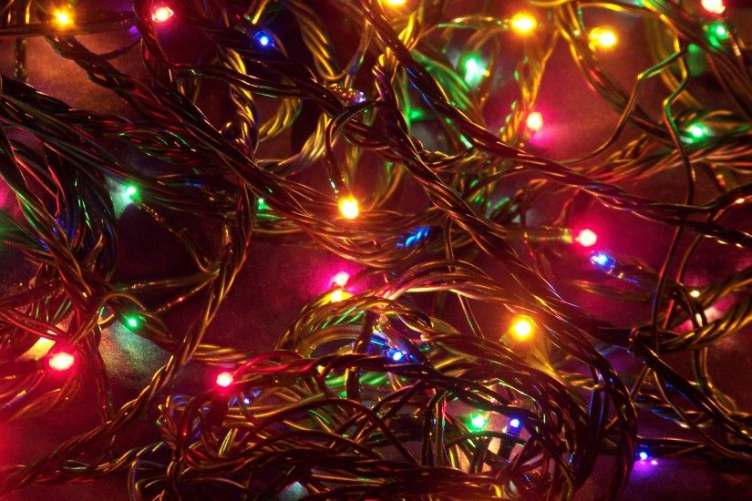 String Of Christmas Tree Lights