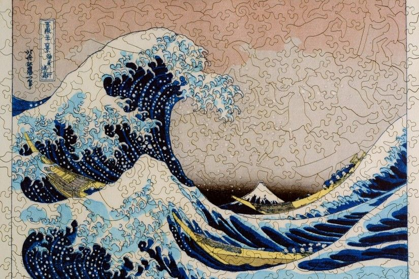 ... The Great Wave Large Piece - Liberty Puzzles - 7 ...