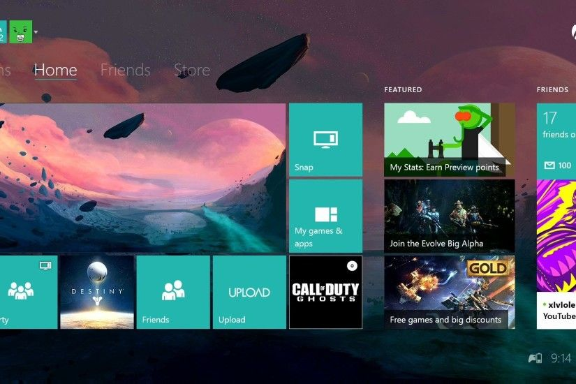 How To Have Custom Xbox One Dashboard Background! Custom Xbox One Themes -  YouTube