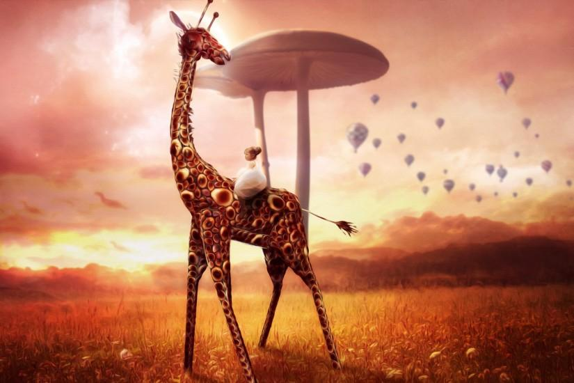 Giraffe Dream