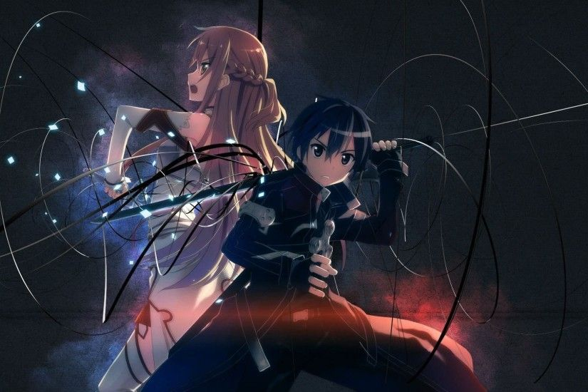 Asuna And Kirito - Sword Art Online 823434 ...