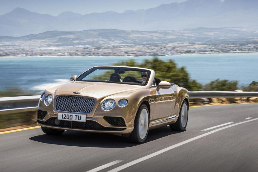 Preview wallpaper bentley, continental gt, concept, convertible 2560x1440