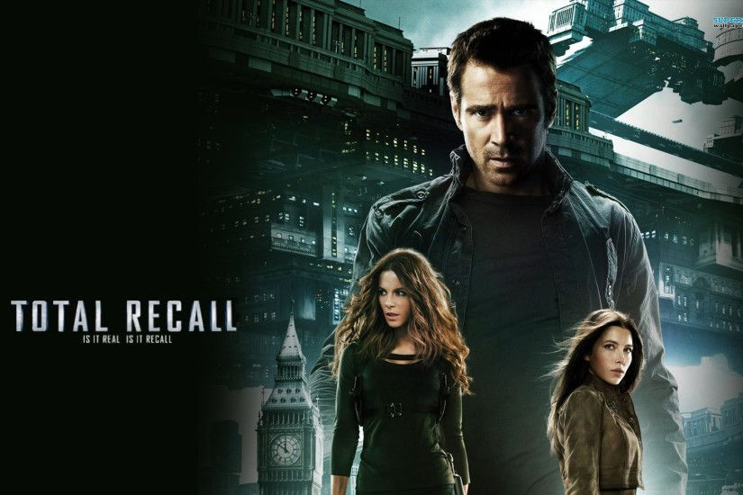 Total Recall (2012) HD Wallpapers and Covers