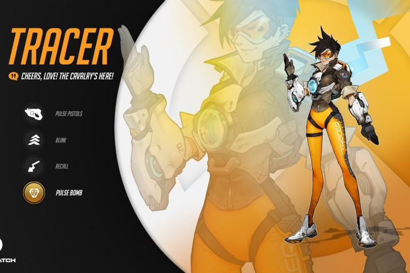 most popular overwatch tracer wallpaper 1920x1080 for windows 7