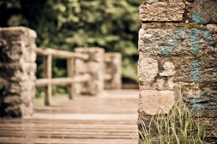HDR, Macro, Bridge, Grass, Closeup, Blurred Wallpapers HD / Desktop and  Mobile Backgrounds