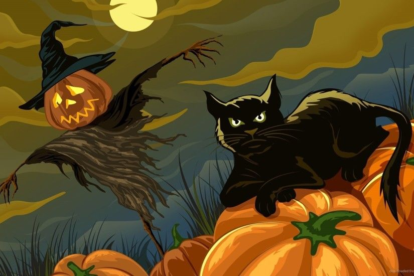 Halloween Cat for 1920x1080