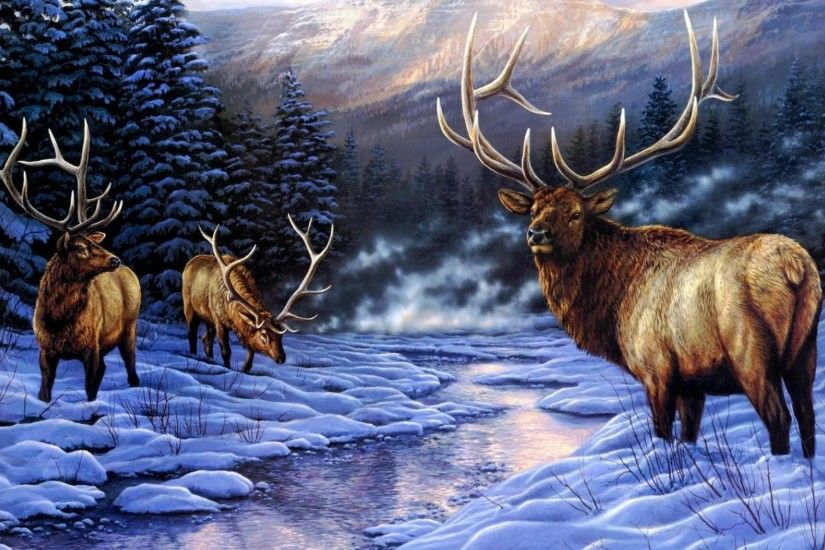 wallpaper.wiki-Elk-Wallpapers-3840x2160-PIC-WPB006763