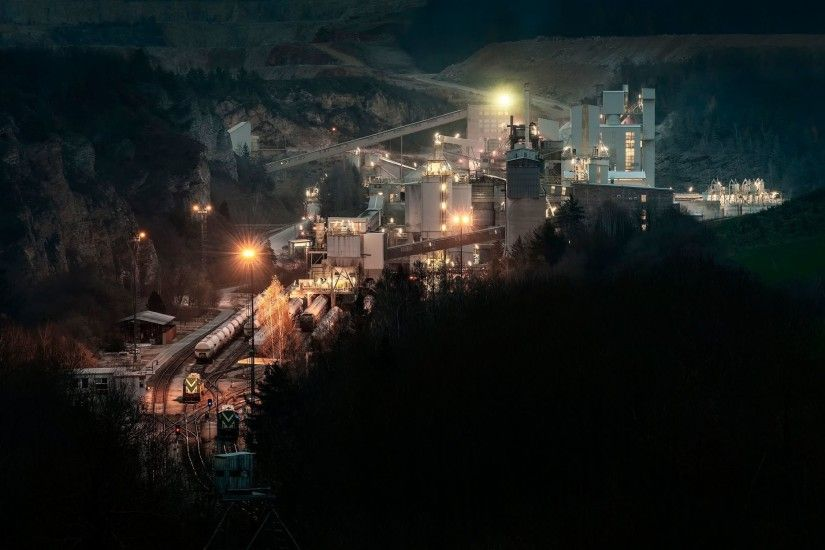 industry mining shaft career complex plant