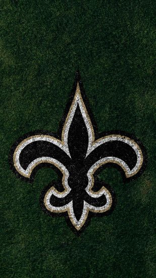 ... New Orleans Saints 2017 turf logo wallpaper free iphone 5, 6, 7, galaxy