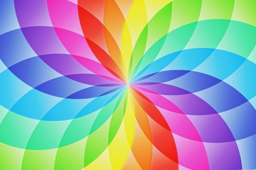 Rainbow Flower HD Wallpapers