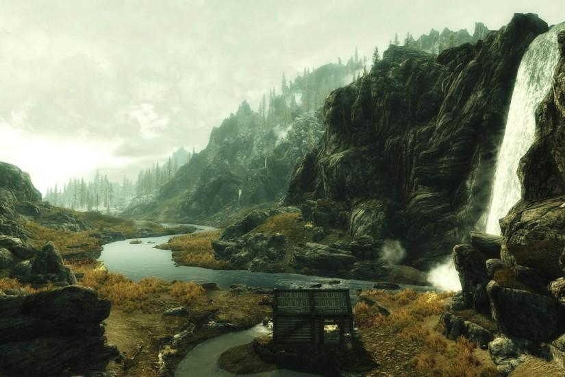free download skyrim background 1920x1080 images