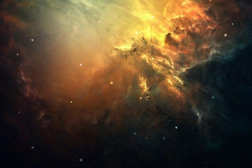 1920x1080 Wallpaper galaxy, space, light, stars, nebula