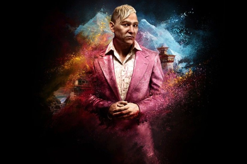 King Pagan Min in Far Cry 4 Wallpapers