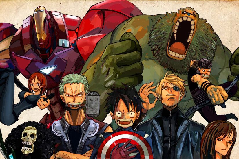 One piece avengers.