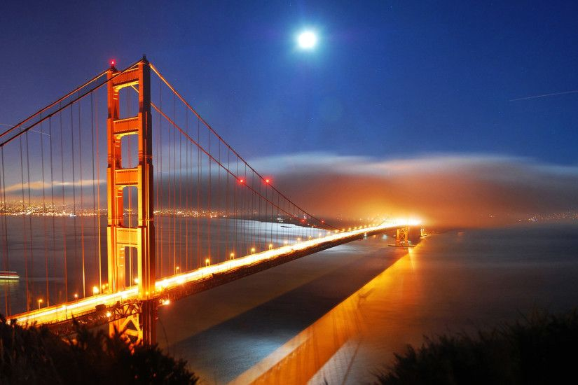 Golden Gate Bridge HD wallpaper