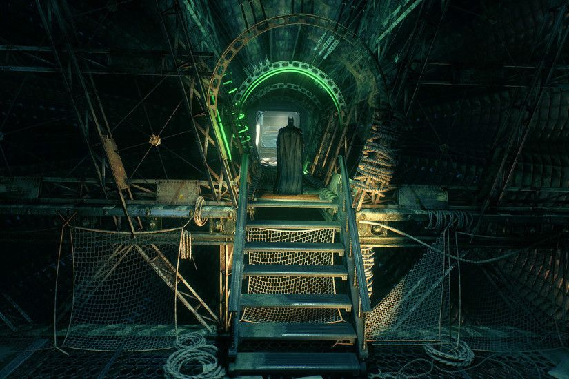 ArtStation - Batman Arkham Knight - Stagg - Riddler Puzzle, Ronan Mahon