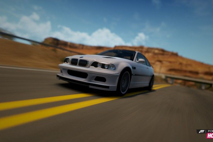 Forza Horizon, BMW M3 E46, White, Forza Wallpapers HD / Desktop and Mobile  Backgrounds