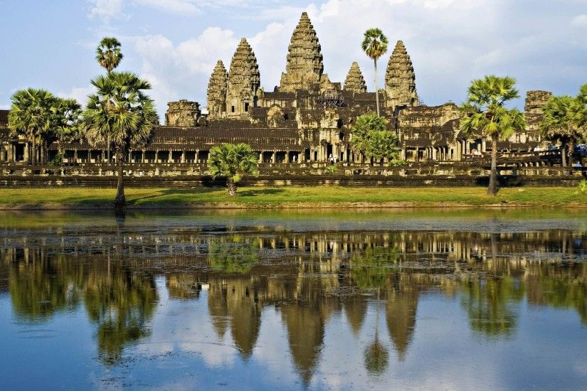 Angkor Wat Wallpaper Hd Resolution