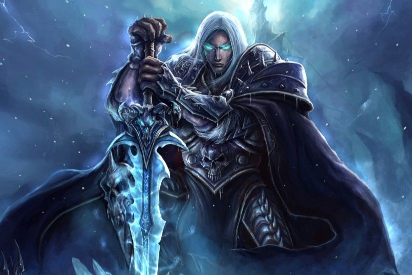 Preview wallpaper world of warcraft, lich king, arthas menethil 2048x2048